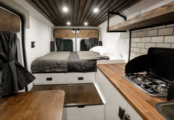 Ford Transit Custom Camper Conversion >> The Biggie Dodge Ram ProMaster Van Conversion by Native Campervans