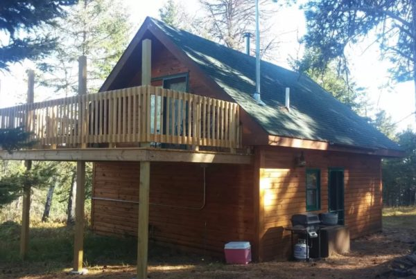 750 Sq Ft Off Grid Cabin For Sale