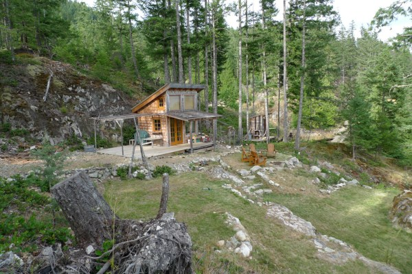 Off-Grid Tiny Cabin For Sale on 5 Acres 002