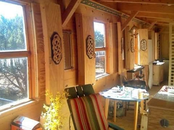 Off-Grid Tiny Cabin in New Mexico 003
