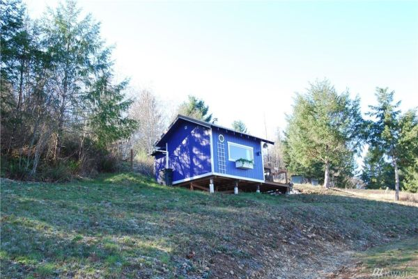 One Room Tiny Cabin for sale in Union WA 006