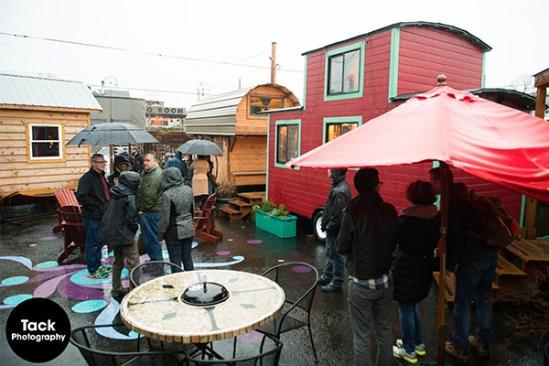 Dee Williams Tiny House Workshop at Caravan Tiny House Hotel