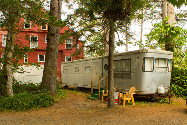 The Picnic Trailer at the Sou'Wester Lodge