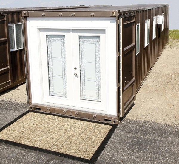 Prefab Shipping Container Tiny Home on Amazon!