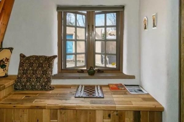 Pueblo-Style Solar Home For Sale in Santa Fe 0010