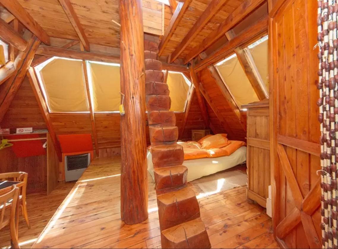 Tiny Pyramid Cabin In Rio Negro Argentina
