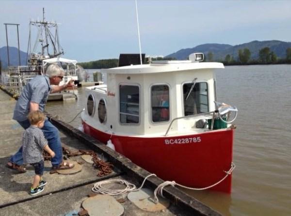Rosebud Tiny House Boat 007