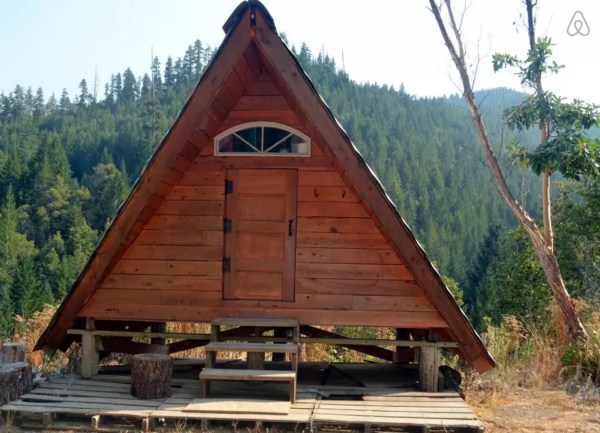 Rustic Off-Grid A-frame Vacation 001