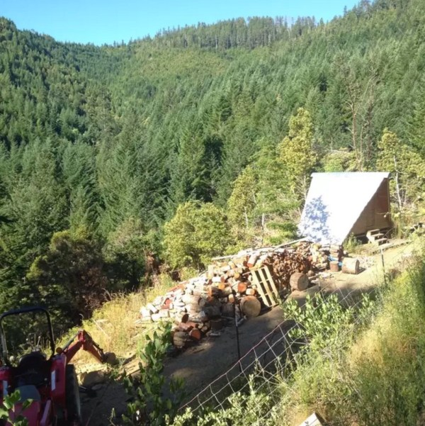 Rustic Off-Grid A-frame Vacation 0010