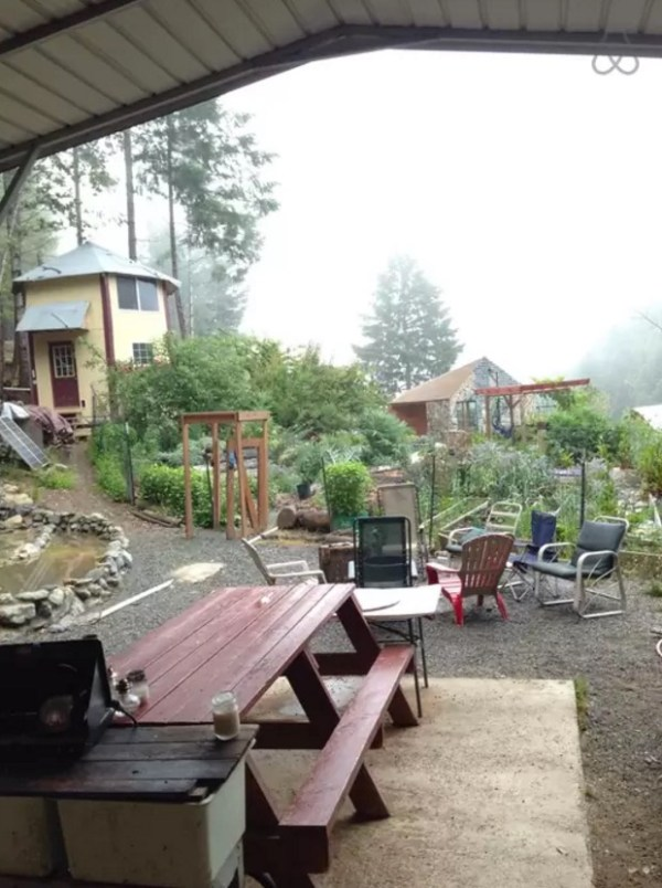 Rustic Off-Grid A-frame Vacation 006