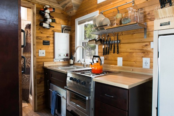 Ryan's 131 Sq Ft Tiny House in Colorado 002
