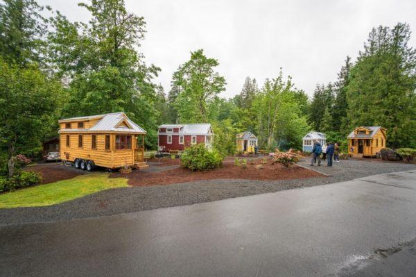Scarlett Tiny House at Mt Hood Tiny House Village 0022