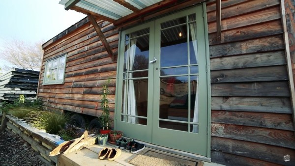 Annelies' $19000 Recycled Tiny Home in NZ