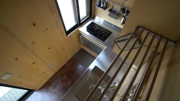 SaltBox Tiny House by Extraordinary Structures (Murphy Bed!)