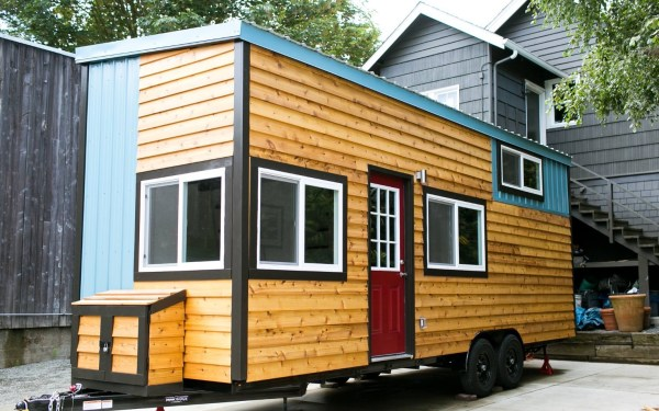 Shannons Custom Tiny Home on Wheels 001