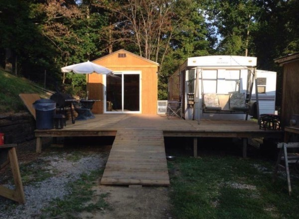 Shed To Tiny House Conversion 001