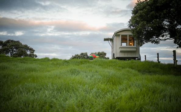 Shepherd Hut Micro Cabin with Ocean Views 0019