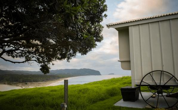 Shepherd Hut Micro Cabin with Ocean Views 008