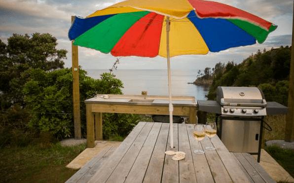 Shepherd Hut Micro Cabin with Ocean Views 009