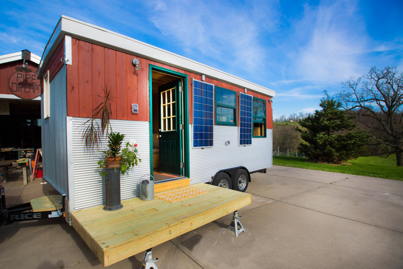 30k Tiny House On Wheels With Murphy Bed For Sale