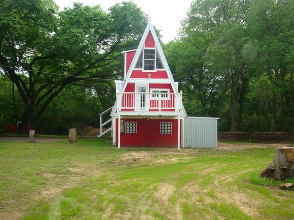 Small A Frame House For Sale In Texas
