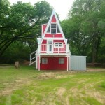 Small A-Frame House For Sale in Texas 0001