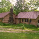 Small Log Cabin in Calais Vermont 001