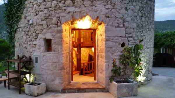 Stone Tower Cabin in Croatia 0028