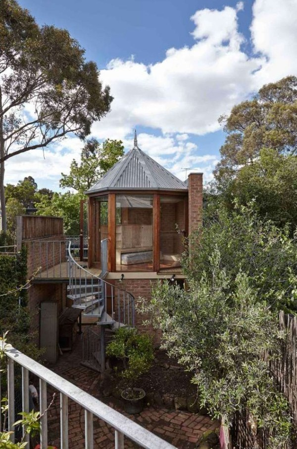 250 Sq. Ft. Tardis Tiny Tower House in Australia