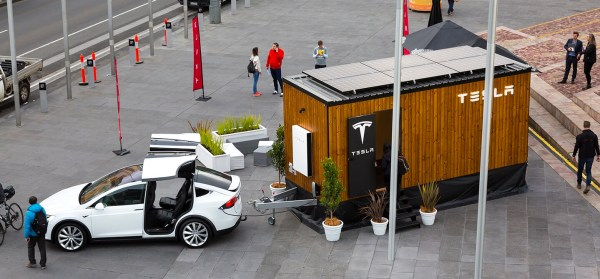 Tesla Tiny House on Wheels Powered by 100% Renewable Energy!