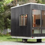 The Adirondack Tiny House 12ft with Secret Built in Floor Bed 001