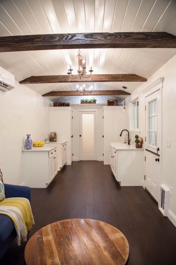 The English Cottage Tiny Home: A Huge Tiny House on Wheels!