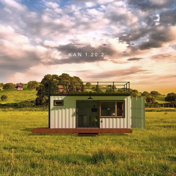 The KAN Shipping Container Tiny Home 001