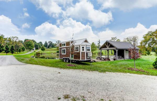 240 Sq. Ft. The Point Tiny House on Wheels by Modern Tiny Living