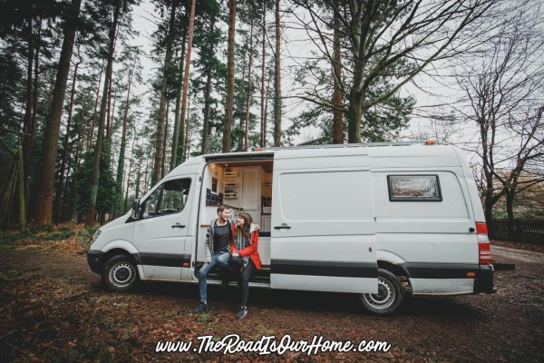 The Road is Our Home Sprinter Conversion 0010