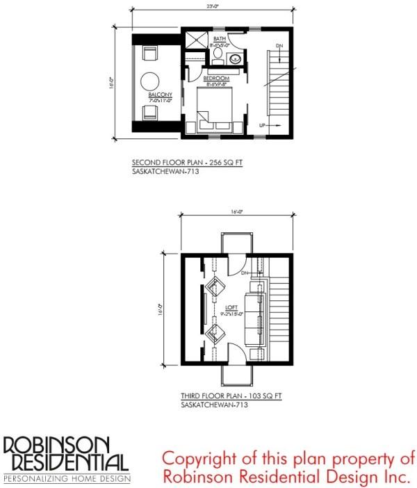 Tiny Home Designs: The Saskatchewan Small House