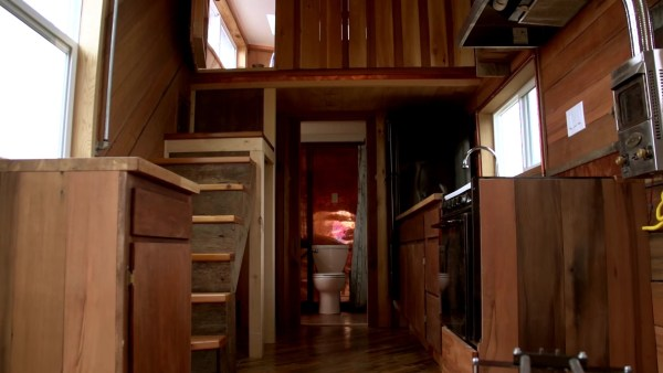 The Steam Punk Tiny House on Wheels by Tiny Smart House 004