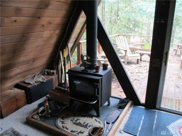 Tiny A-frame Cabin in Hoodsport, WA