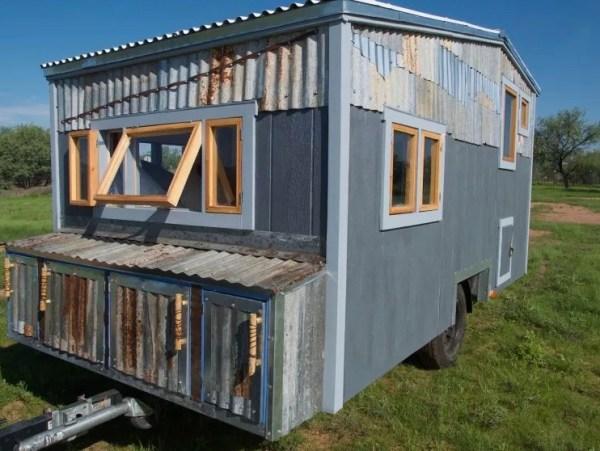 Tiny Beach House on Wheels For Sale 0027