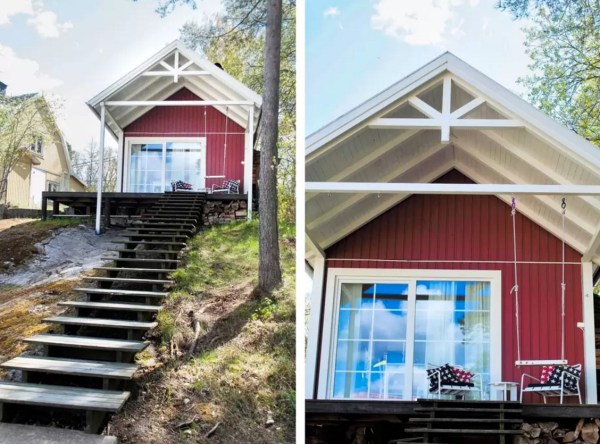 Tiny Bungalow by the Sea in Sweden 002