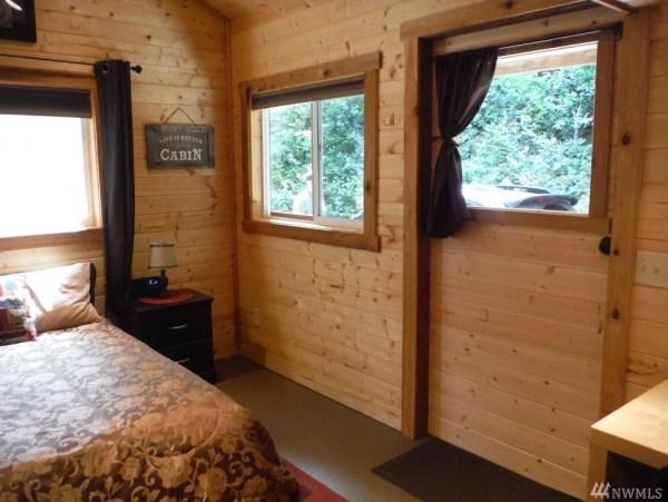 Tiny Cabin For Sale in Hoodsport via TinyHouseTalk-com 002
