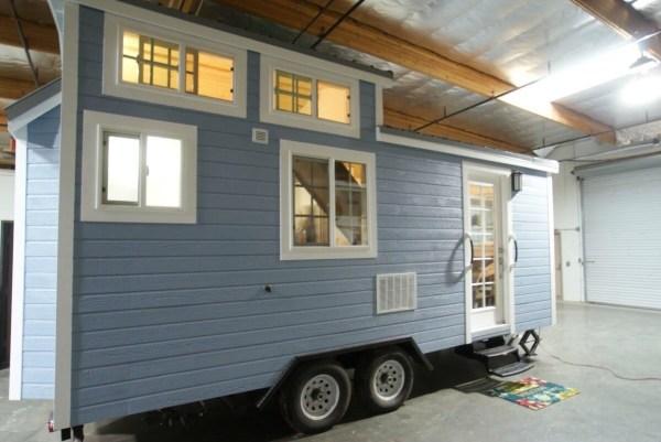 Tiny Cottage on Wheels For Sale in Orange County via TinyHouseTalk-com 001