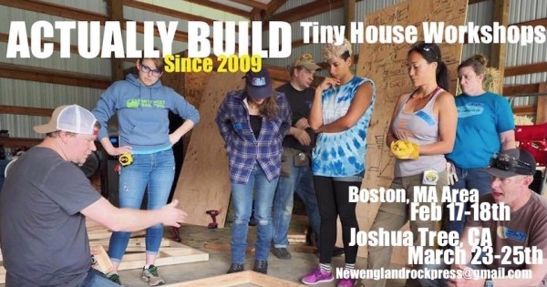 Tiny House Construction Workshops