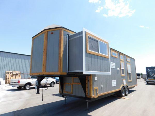 Tiny House Toy Hauler RV A Tiny House On Wheels With A