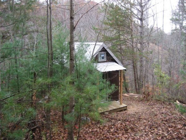 My Tiny House in the Smoky Mountains. Photo by Laura M. LaVoie