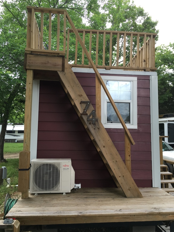 Tiny House with Rooftop Balcony For Sale 003