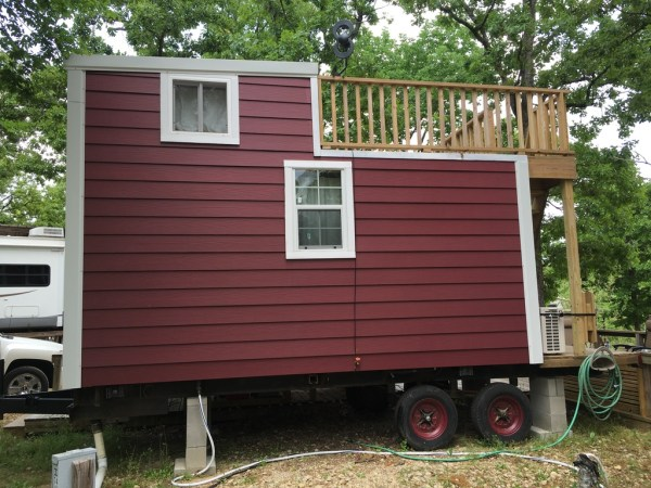 Tiny House with Rooftop Balcony For Sale 0042