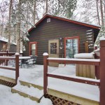 Tiny Log Cabin For Sale in Hayward WI 001