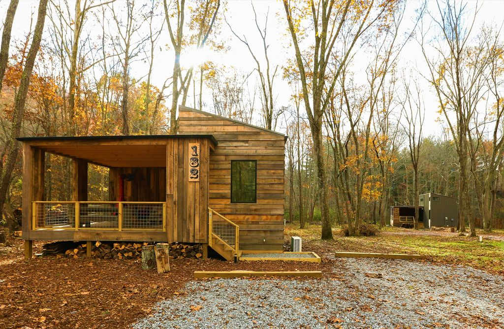 Tiny Home Designs: 330 Sq. Ft. Tiny Cabin Near Asheville