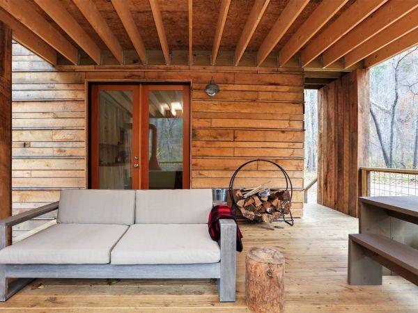 Tiny Modern Rustic Tiny Cabin Vacation near Asheville NC 0020